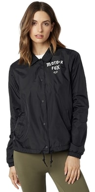 Pit stop coaches jacket Black/White