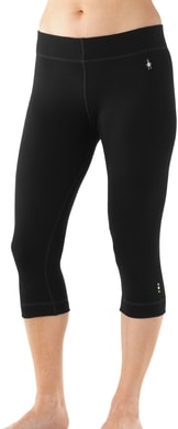 W MERINO 250 BASELAYER 3/4 BOTTOM black