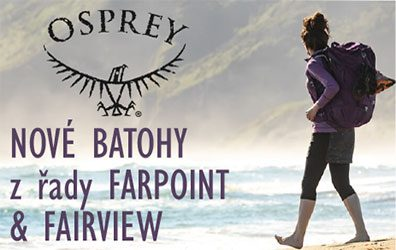 osprey FARPOINT  a FAIRVIEW TREK