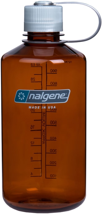 Narrow-Mouth 1000 ml Rustic Orange