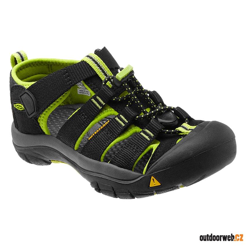 ede829678575 ... dětské sandály akce. doprava zdarma  -23%  garance. Newport H2 K  black lime green