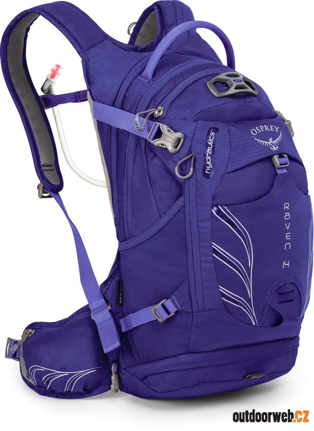 9fd1cb9e29 Raven 14 royal purple - cyklistický batoh - OSPREY - cyklistické ...