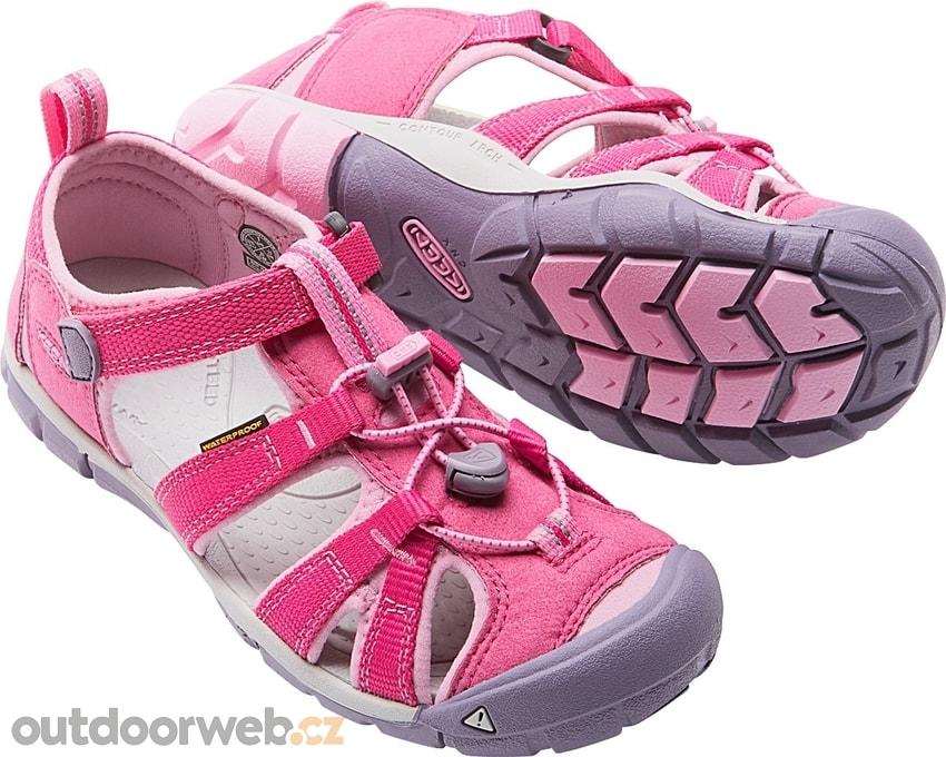5be25a0d0 SEACAMP II CNX K very berry/lilac chiffon - KEEN - dětské sandály ...