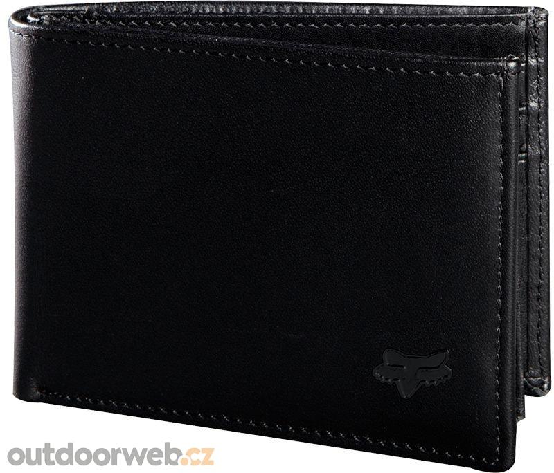 27e288c48 Bifold Leather Wallet, black - FOX - pánské - peněženky, Doplňky - 1 ...