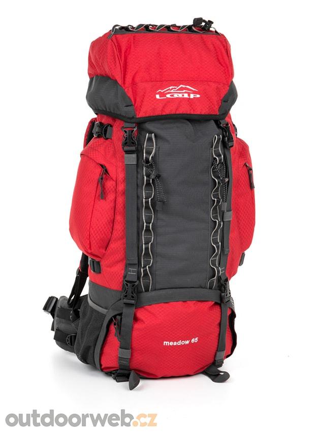 6a2909964d SAULO 65 červený - LOAP - turistické batohy - turistika - 1 399 Kč