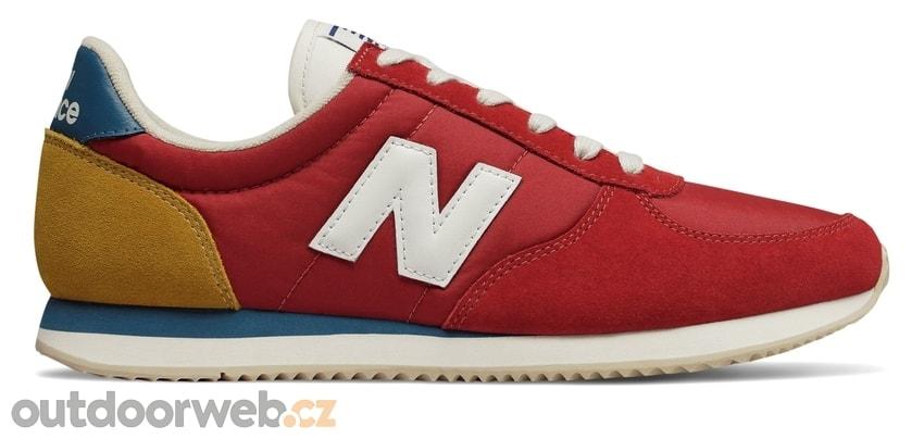e19be97290 U220FH červená - NEW BALANCE - pánské - tenisky