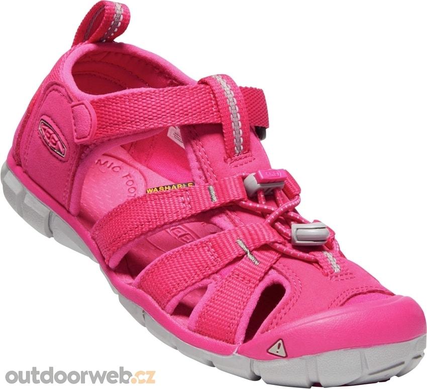a5acbcf77 SEACAMP II CNX Y, hot pink - KEEN - dětské sandály - turistické ...