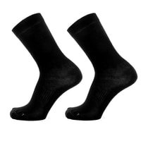 586-063 950 START 2PK BLACK/BLACK -  ponožky 2 ks