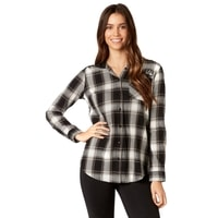 Deny Flannel Black