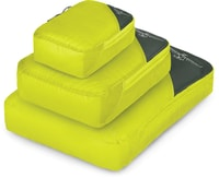 Ultralight Packing Cube Set electric lime
