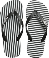 Jail Break Flip Flop, black/white