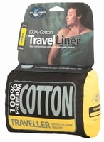 Cotton Traveller (Pilow Insert) Eucalyptus Green