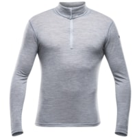 Breeze Man Zip Neck Grey Melange