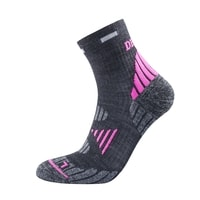 Energy Ankle Woman Sock, Dark grey