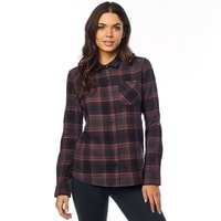 KICK IT LS FLANNEL Rose