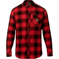 Longview Ltwt Flannel Rio Red