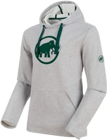 Mammut Logo ML Hoody Men stone grey mélange