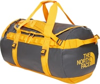 BASE CAMP DUFFEL M 71 L, ASPHALT GR/ZINNIA ORANGE
