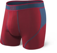 KINETIC BOXER BRIEF, deep red/blue
