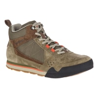 BURNT ROCK TURA MID SUEDE, dusty olive