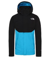 M MNTN LGT II SL JKT TNF BLACK/ACOUSTIC BLUE