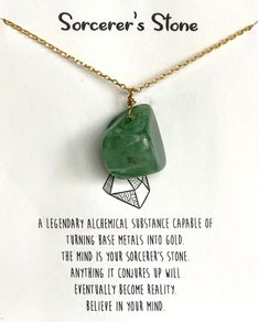 MUST HAVE series: Green Aventurine Crystal