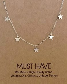 MUST HAVE series: Silver Sky Stars