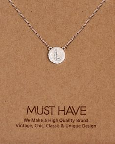 MUST HAVE series: Initial Silver Necklace Letter L