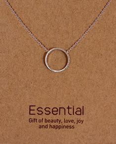 MUST HAVE series: Silver Karma Necklace