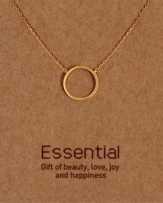 MUST HAVE series: Gold Karma Necklace
