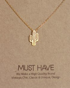 MUST HAVE series: Gold Cactus