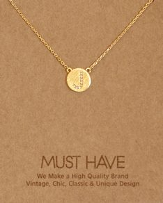 MUST HAVE series: Initial Gold Necklace Letter J