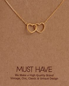 MUST HAVE series: Gold Double Love