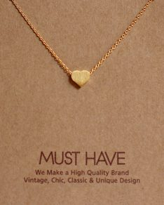 MUST HAVE series: Gold Sweetheart