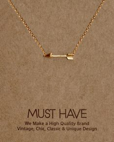 MUST HAVE series: Gold Arrow