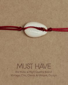 MUST HAVE series: Náramek Red Shell bracelet