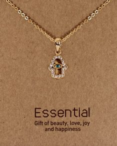 MUST HAVE series: Gold Crystals Hamsa Eye