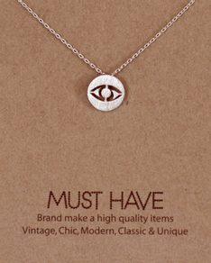 MUST HAVE series: Silver Circle Eye