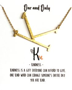 MUST HAVE series: Signature Letter K
