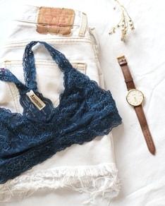 214e0417ff BE CHICK - Dark blue lace bra Dressy Anemone USA - Anemone USA ...