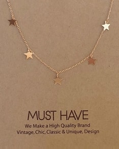 MUST HAVE series: Rose Gold Sky Stars