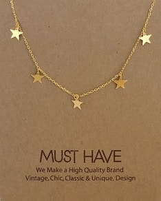 MUST HAVE series: Gold Sky Stars