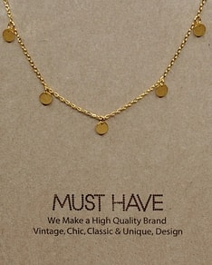 MUST HAVE series: Delicate Gold Round