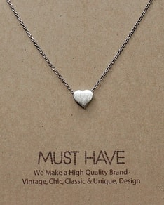 MUST HAVE series: Silver Sweetheart