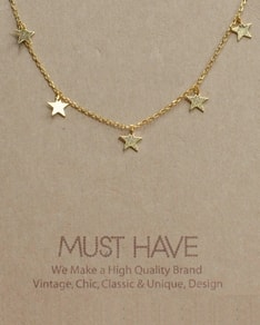 MUST HAVE series: Gold Delicate Stars
