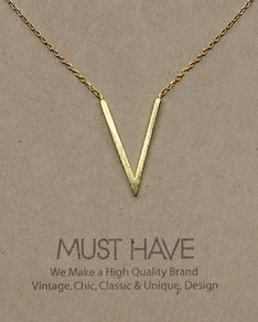 MUST HAVE series: Gold Delicate V