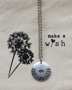MAKE A WISH: Silver Just Breathe