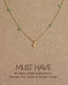 MUST HAVE series: Green Pearl Star