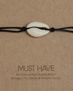 MUST HAVE series: Náramek Black Shell bracelet