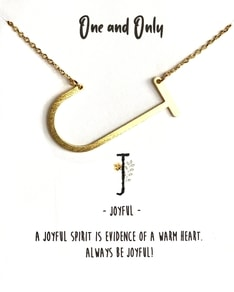 MUST HAVE series: Signature Letter J